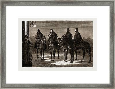 Patrol, A Truant Soldiers Terror Framed Print