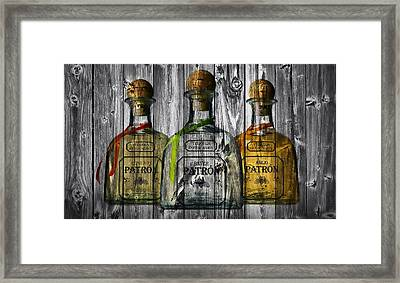 Patron Barn Door Framed Print by Dan Sproul