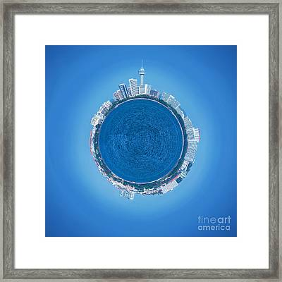 Pattaya World Framed Print by Atiketta Sangasaeng