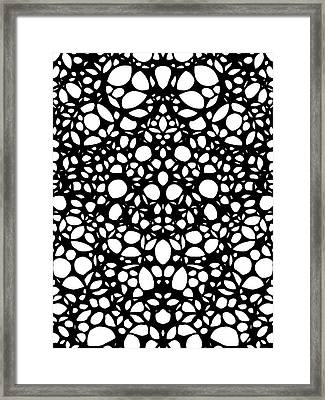 Pattern 1 - Intricate Exquisite Pattern Art Prints Framed Print by Sharon Cummings