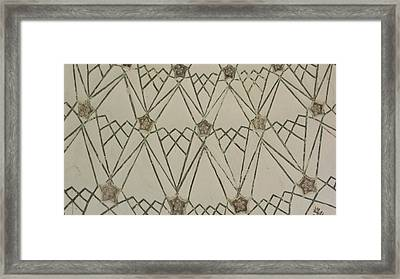 Pattern 1 Framed Print by Russell Smidt