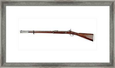 Pattern 1856 Short Rifle Framed Print