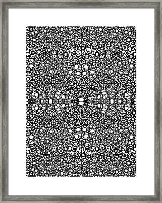 Pattern 26 - Intricate Exquisite Pattern Art Prints Framed Print by Sharon Cummings