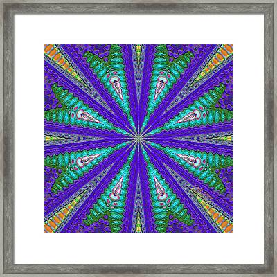 Pattern 37 Framed Print