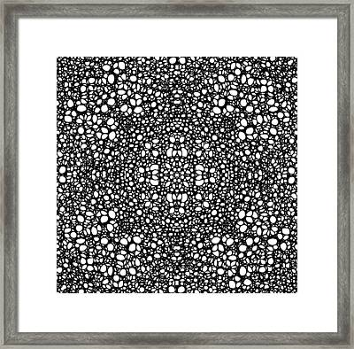 Pattern 42 - Intricate Exquisite Pattern Art Prints Framed Print by Sharon Cummings