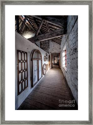 Pattern Loft Framed Print by Adrian Evans