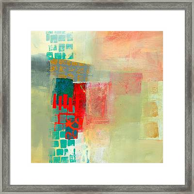 Pattern Study #2 Framed Print by Jane Davies