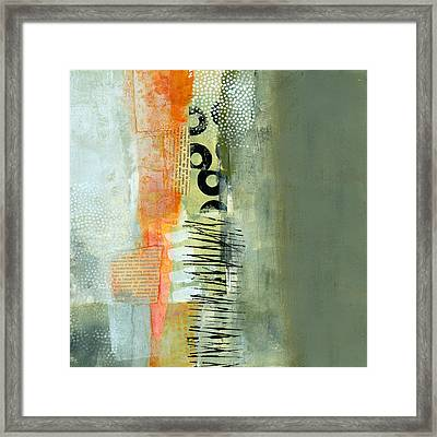 Pattern Study Nuetral 1 Framed Print