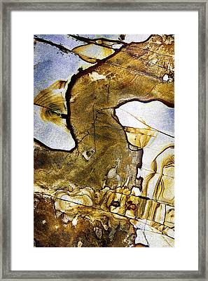 Patterns In Stone - 153 Framed Print by Paul W Faust -  Impressions of Light