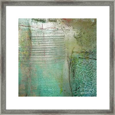 Patterns In The Sand Framed Print by Lisa Schafer