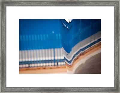 Patterns Framed Print by Paul Job