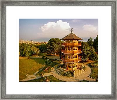 Patterson Park Pagoda Framed Print