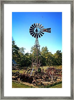 Patterson Windmill Framed Print