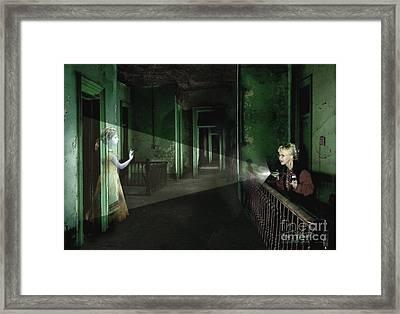 Patti Starr  Framed Print by Tom Straub
