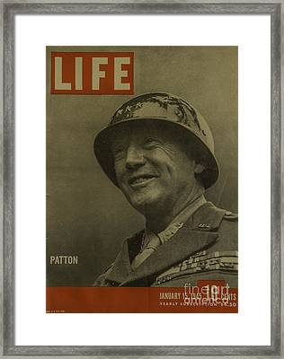 Patton Framed Print