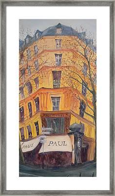 Paul, 2010 Oil On Canvas Framed Print