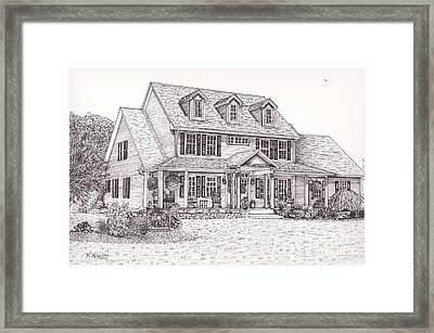 Paul And Debbie's House Framed Print