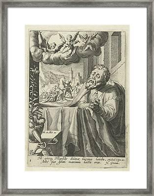 Paul As Repentant Sinner, Hugo De Groot, Michael Colyn Framed Print by Artokoloro