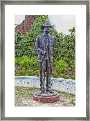 Paul Bear Bryant Framed Print