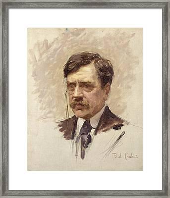 Paul Bourget  Framed Print