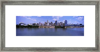 Paul Brown Stadium With John A Framed Print