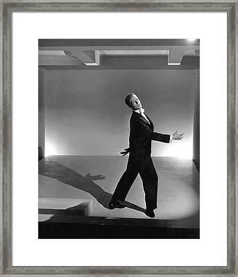 Paul Draper Dancing Framed Print