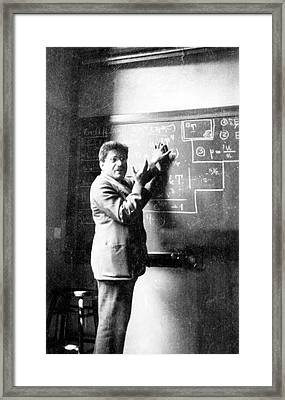 Paul Ehrenfest Framed Print by Emilio Segre Visual Archives/american Institute Of Physics