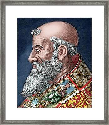 Paul IIi (rome, 1468-canino, 1549 Framed Print