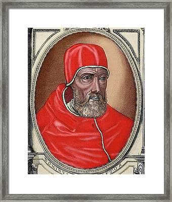 Paul Iv (capriglia, 1476-rome, 1559 Framed Print