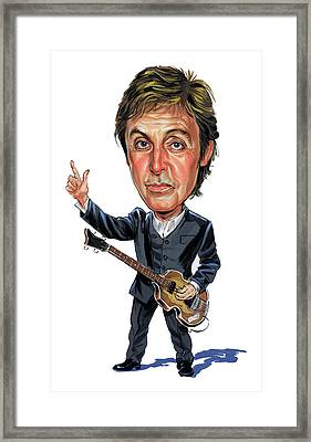 Paul Mccartney Framed Print