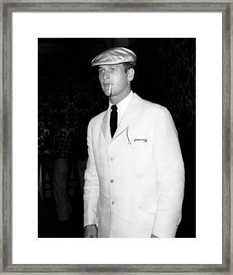Paul Newman, Ca. Late 1950s Framed Print