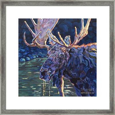 Paul Framed Print by Patricia A Griffin