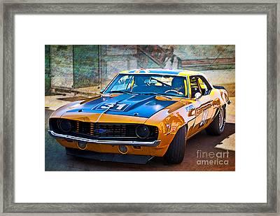 Paul Stubber Camaro Framed Print