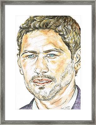 Paul Walker Tribute Framed Print by Teresa White