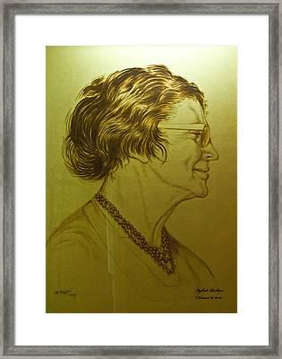 Paula Ben-gurion Framed Print