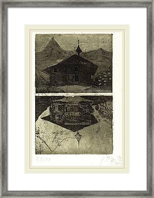 Paula Modersohn-becker German, 1876-1907 Framed Print by Litz Collection