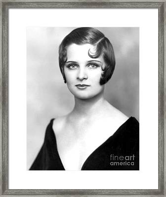 Paula Sands Framed Print by MMG Archives