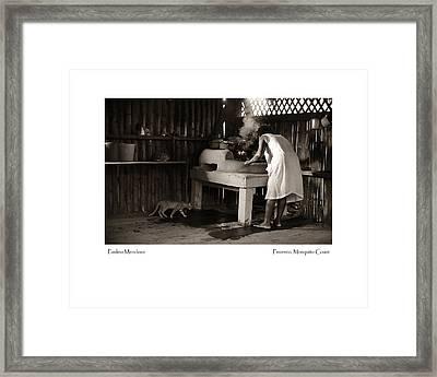 Paulina Mendosa Framed Print by Tina Manley