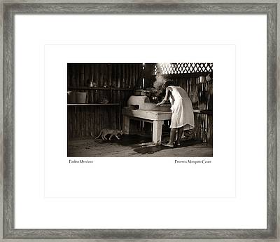 Paulina Mendosa Framed Print