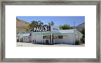 Pauls Place Framed Print by Barbara Snyder