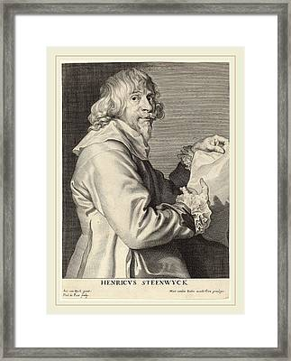 Paulus Pontius After Sir Anthony Van Dyck Framed Print by Litz Collection