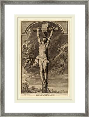 Paulus Pontius, After Sir Peter Paul Rubens Flemish Framed Print by Litz Collection
