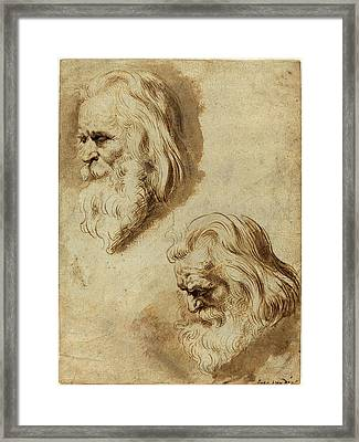 Paulus Pontius After Sir Peter Paul Rubens Framed Print by Litz Collection