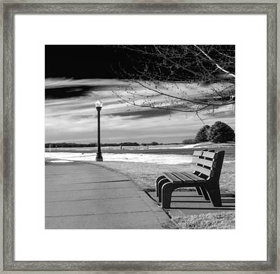 Pause Framed Print by Don Spenner