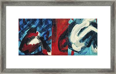 Pause  Framed Print by Hatin Josee