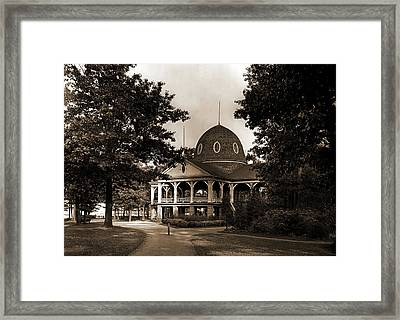 Pavilion, Pine Grove Park, Port Huron, Mich, The, Parks Framed Print