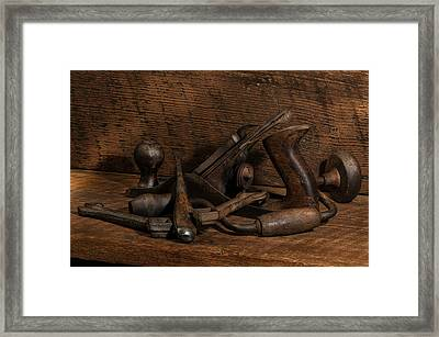 Paw Paw's Tools Framed Print