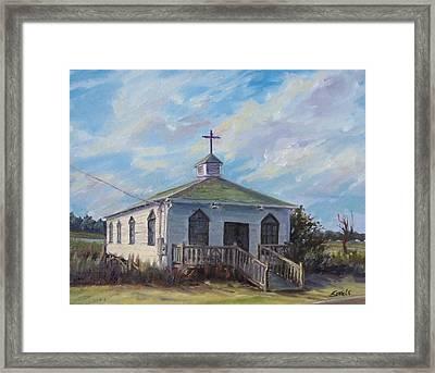 Pawleys Chapel Framed Print