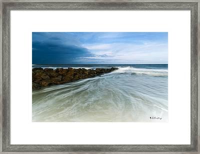Pawleys Drift Framed Print by Bill Cantey