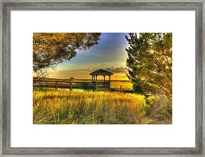 Pawleys Island Sc Framed Print by Ed Roberts